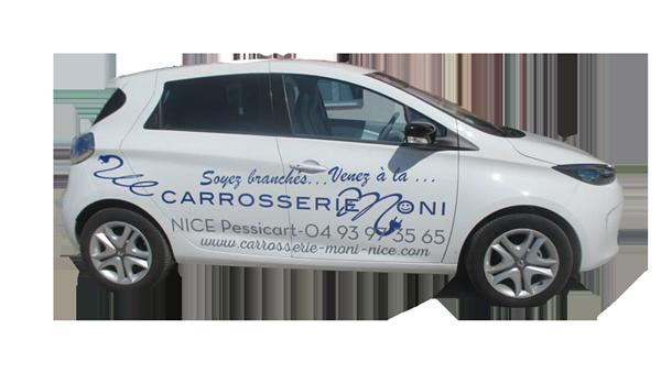 voiture de pret electrique carrosserie nice
